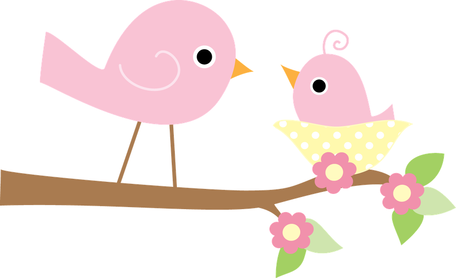 Nest clipart branch clipart. Passarinhos minus already felt