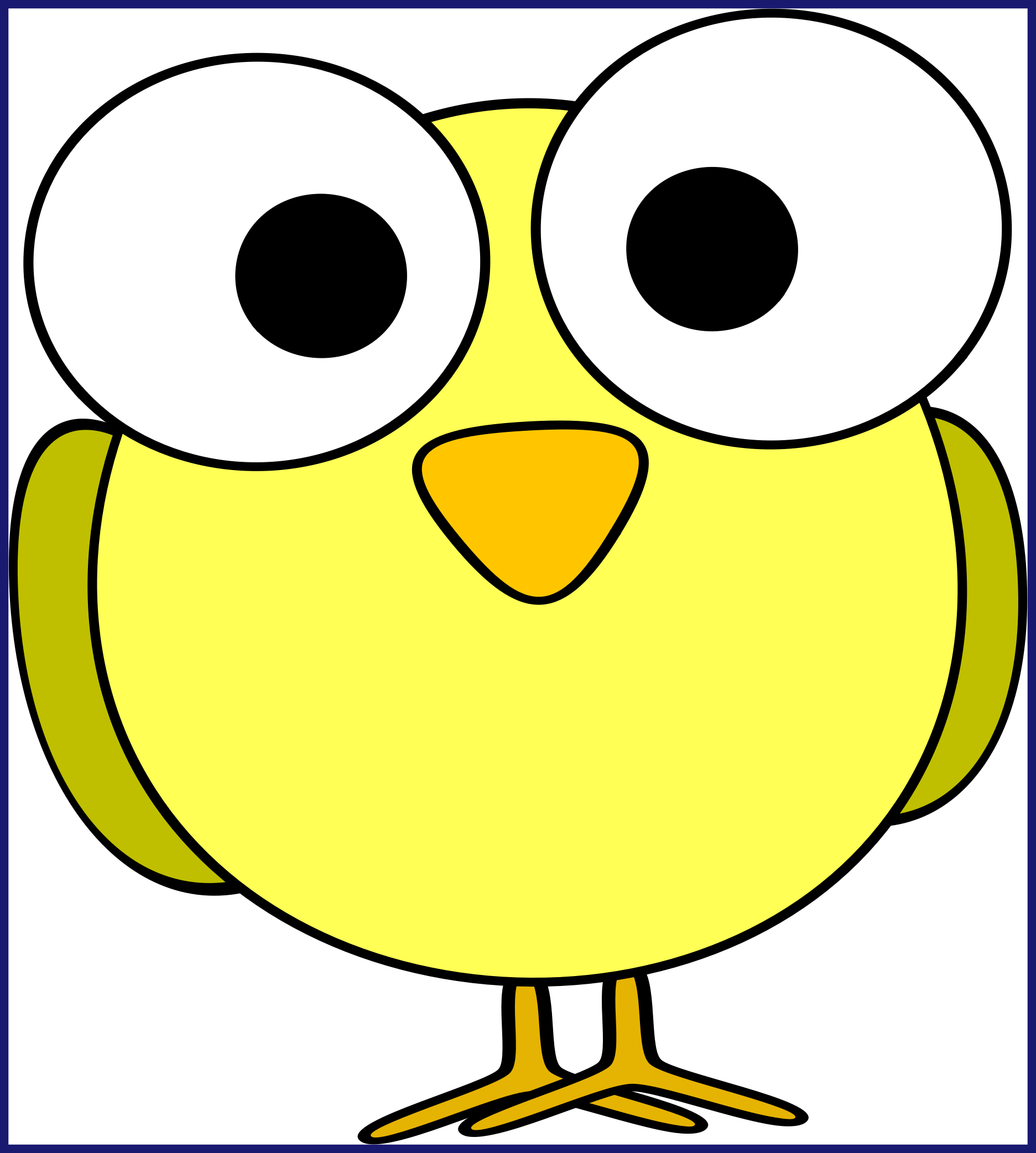 Appealing cute owl baby. Nest clipart cartoon
