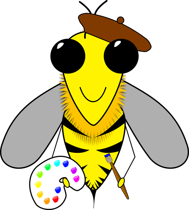 Nest clipart cartoon. Bee s free on