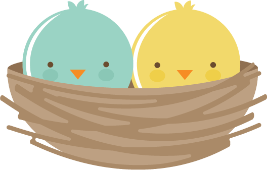 Nest clipart cute. Pin on cut files