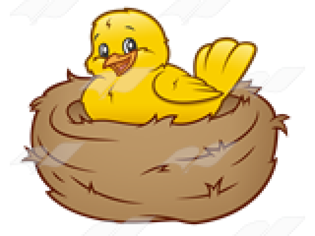 Mother bird free on. Nest clipart cute