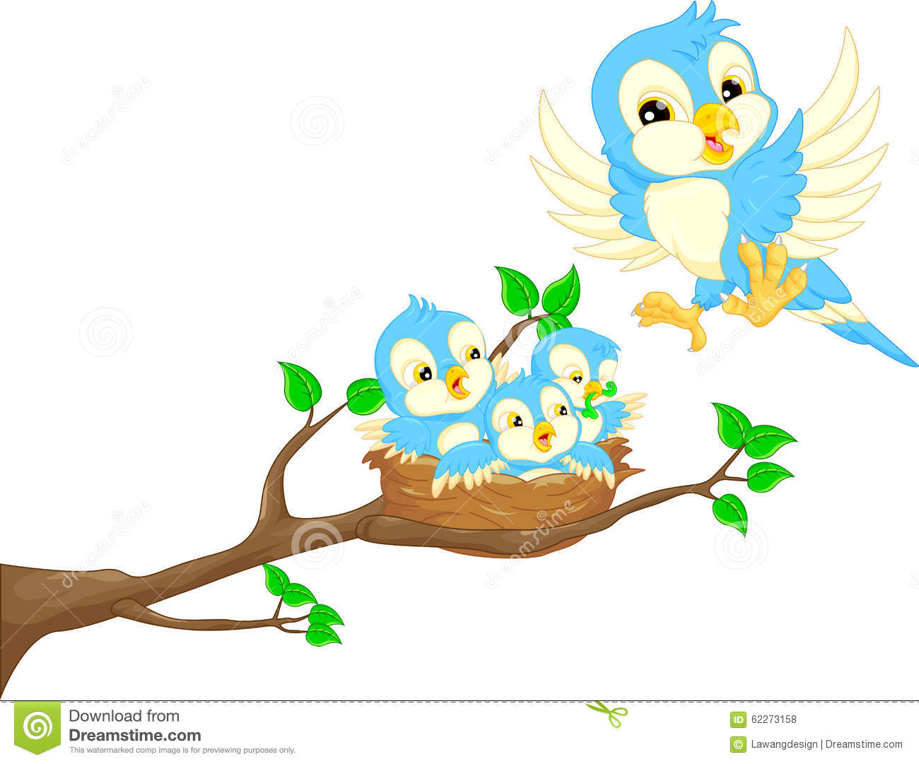 Nest clipart early bird. Empty cartoon free download