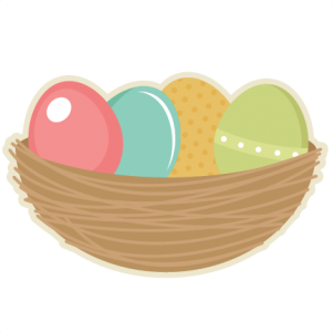 Nest clipart easter egg. Miss kate cuttables scrapbooking