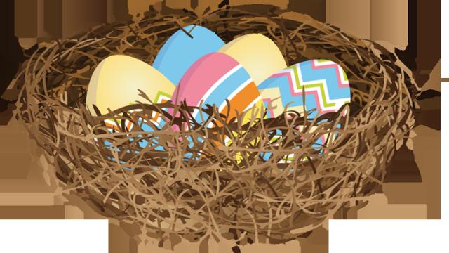 Nest clipart easter egg. Web design development clip