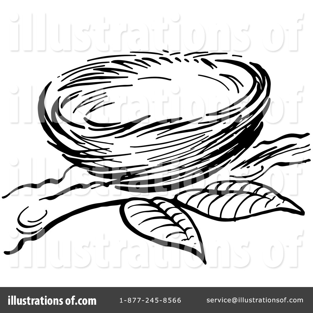 Nest clipart easy. Illustration by picsburg