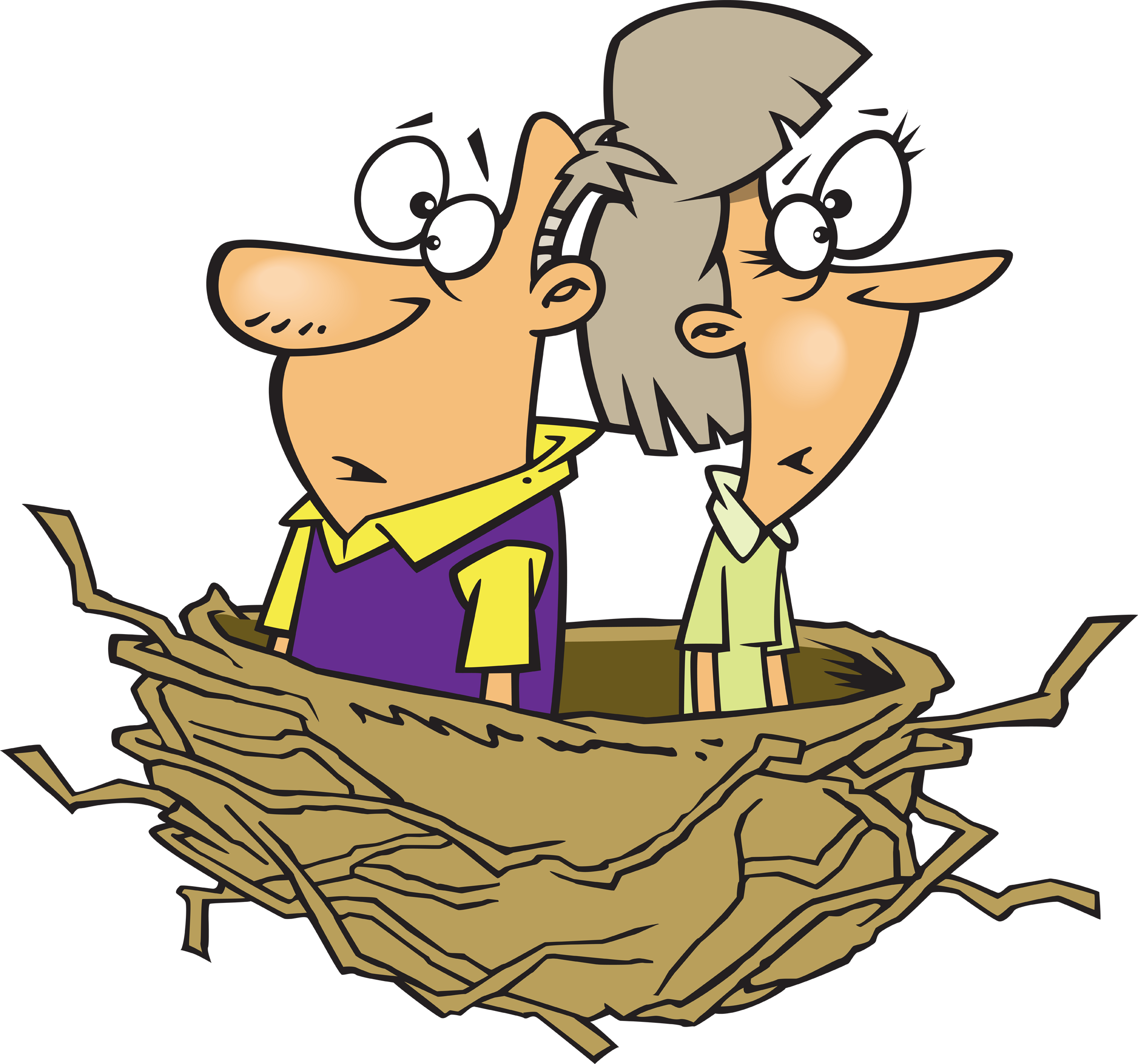 Nest clipart empty nester. Nesters a light hearted