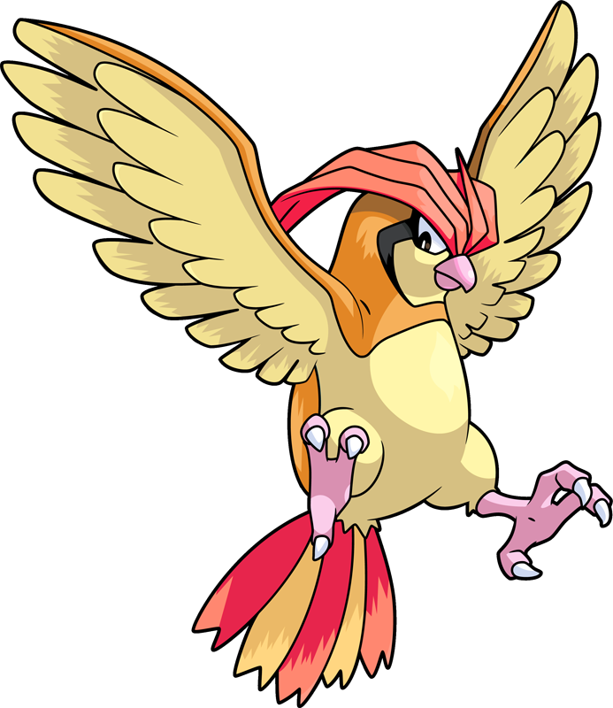 Nest clipart fledgling. Shiny pidgeotto pok dex