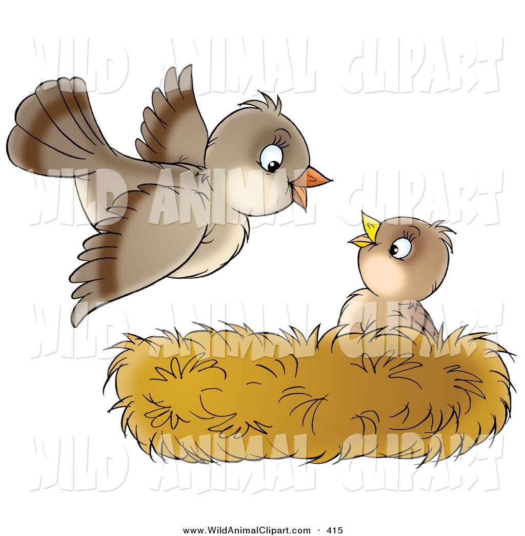 Clip art of a. Nest clipart home