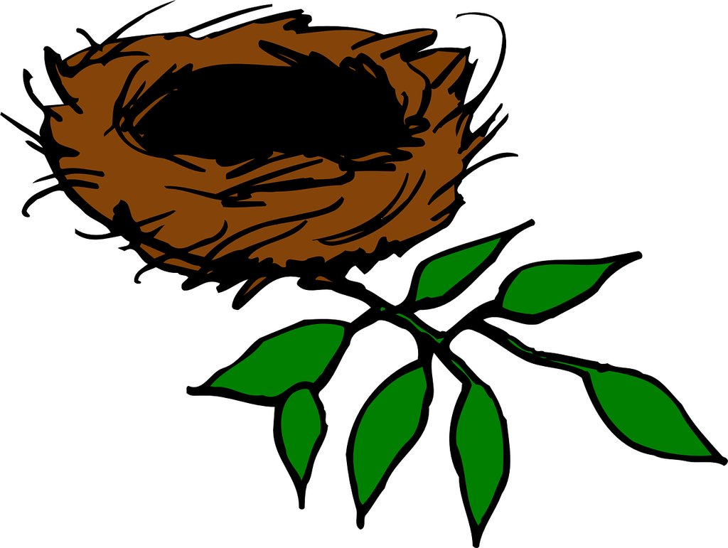 Ease the pain of. Nest clipart pretty bird