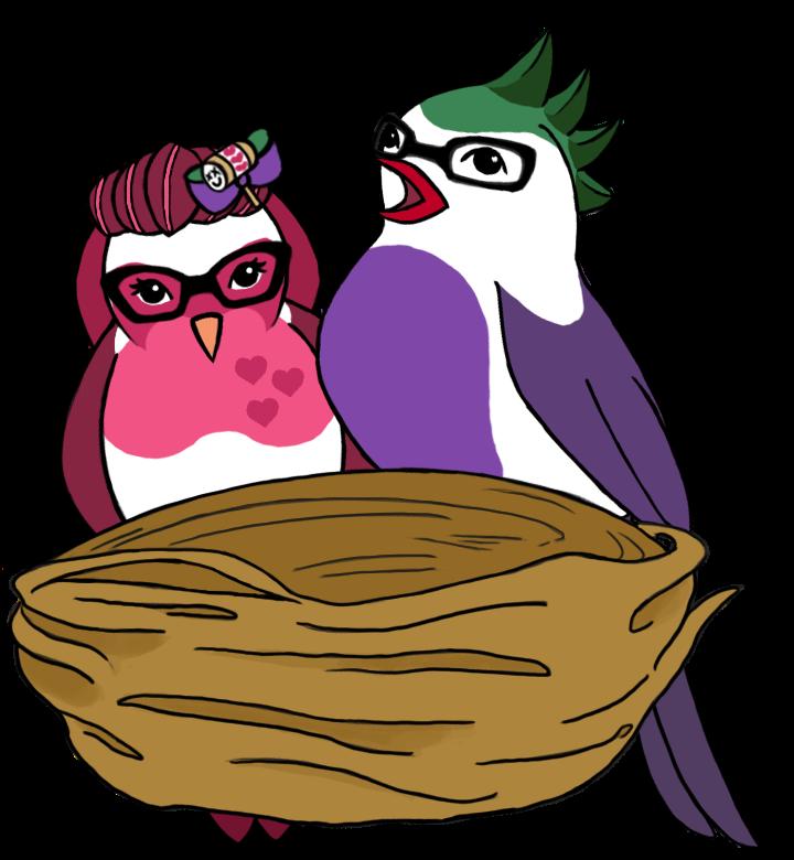 Nest clipart robins nest. Raven as wonder woman