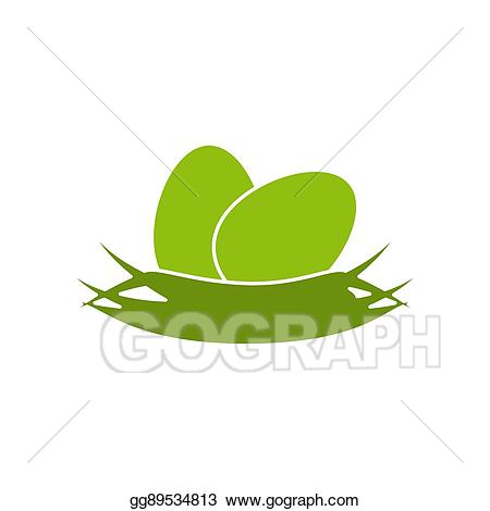Eps illustration icon vector. Nest clipart simple