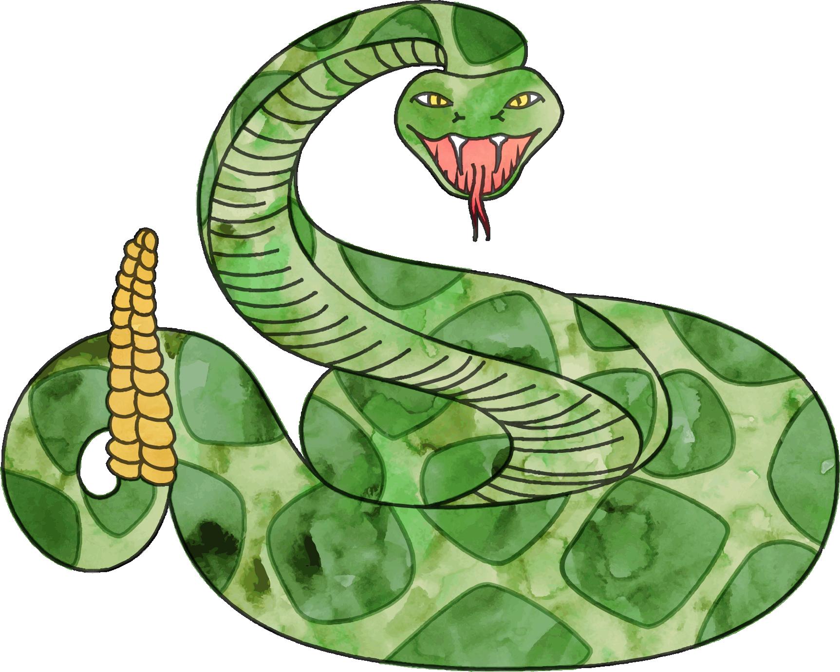 Nest clipart snake. Rattlesnake png transparent free
