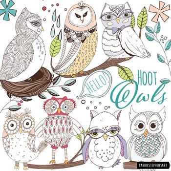 Nest clipart theme. Owl hoot classroom graphics
