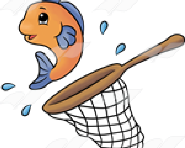 Fishing in a download. Net clipart clip art fish