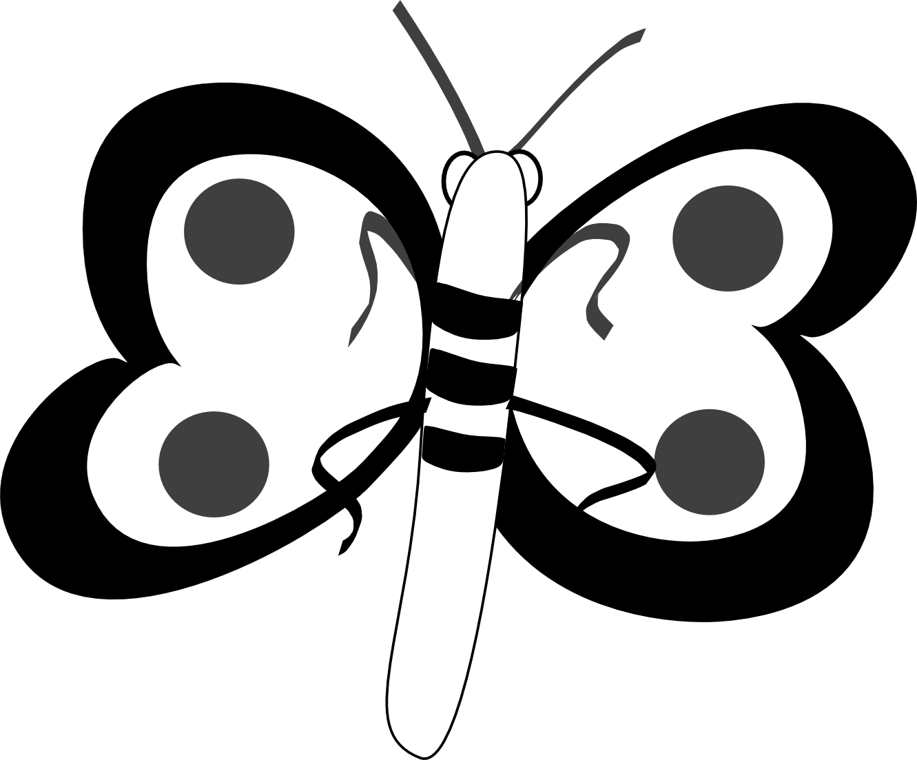 Butterfly illustration panda free. Net clipart insect net
