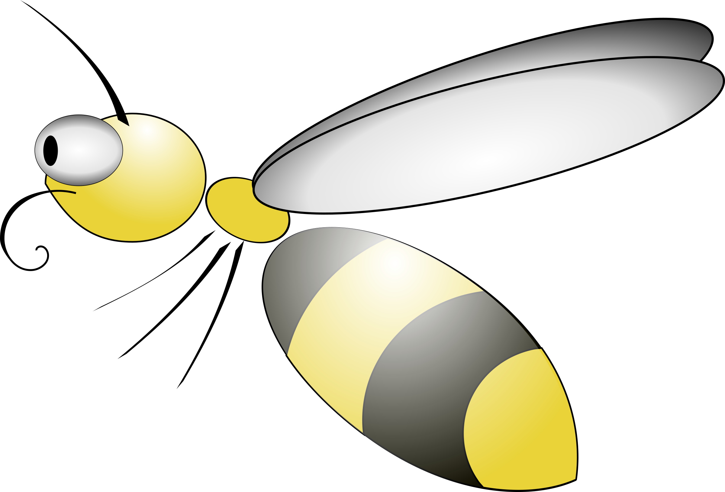 Net clipart insect net. Abeille big image png