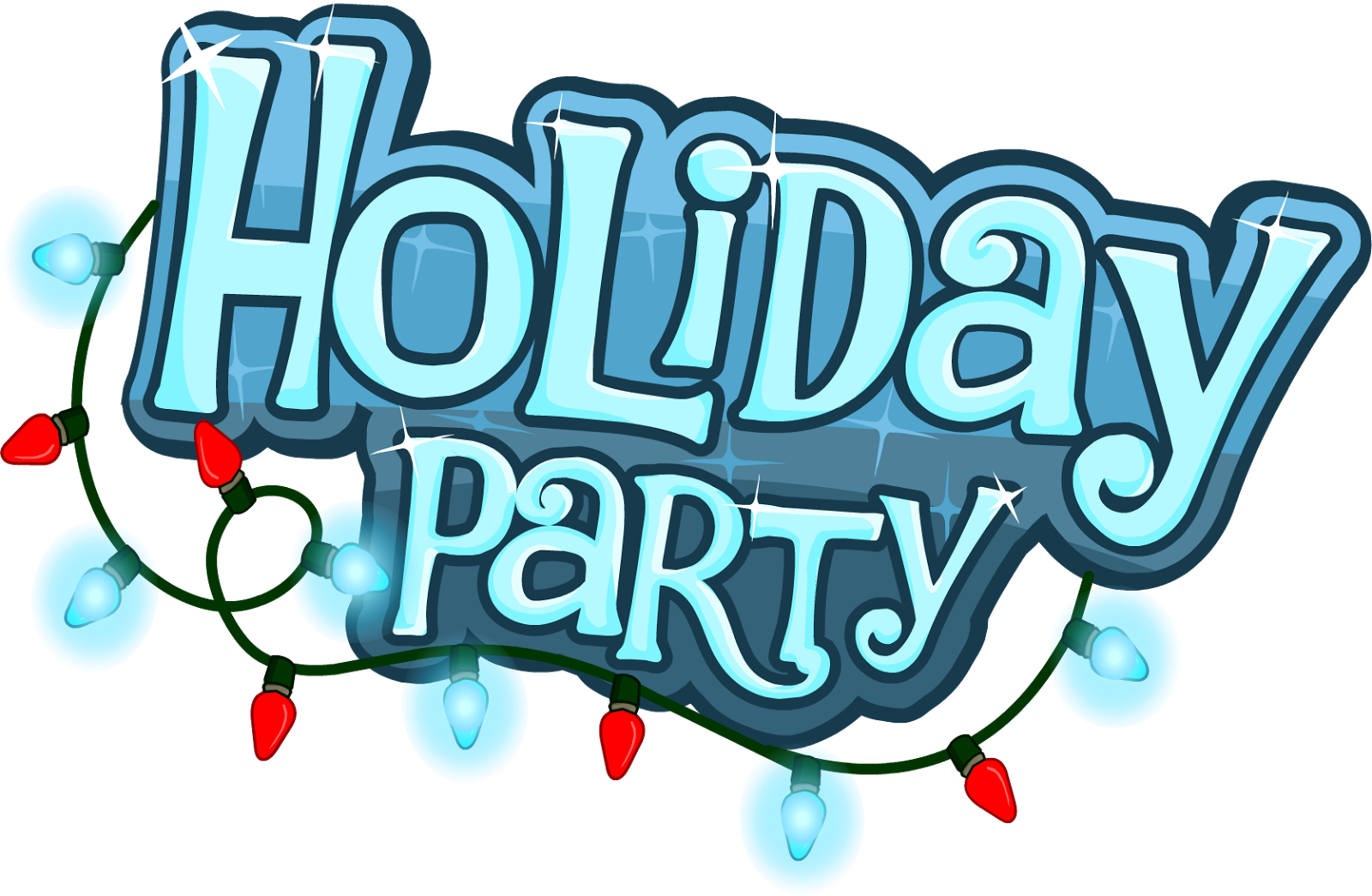 Holiday cdce fc e. Party clipart winter