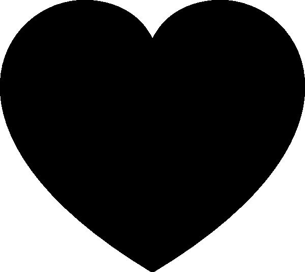 Heart vector png. Solid black svg clip