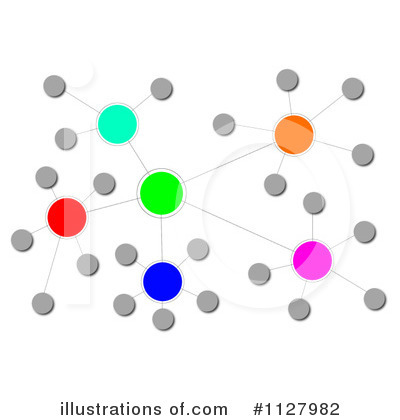 Network clipart. Illustration by oboy royaltyfree