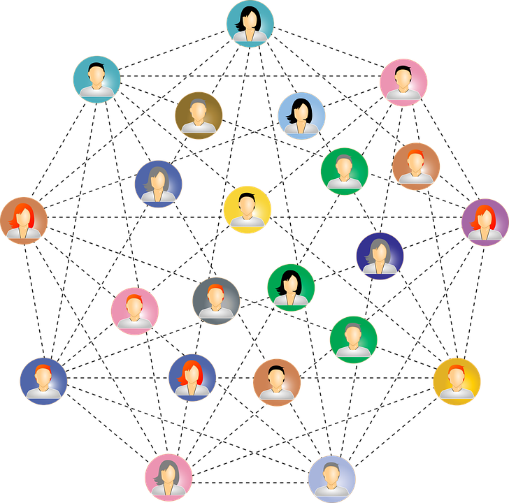 Professional clipart professional networking. Step how to network