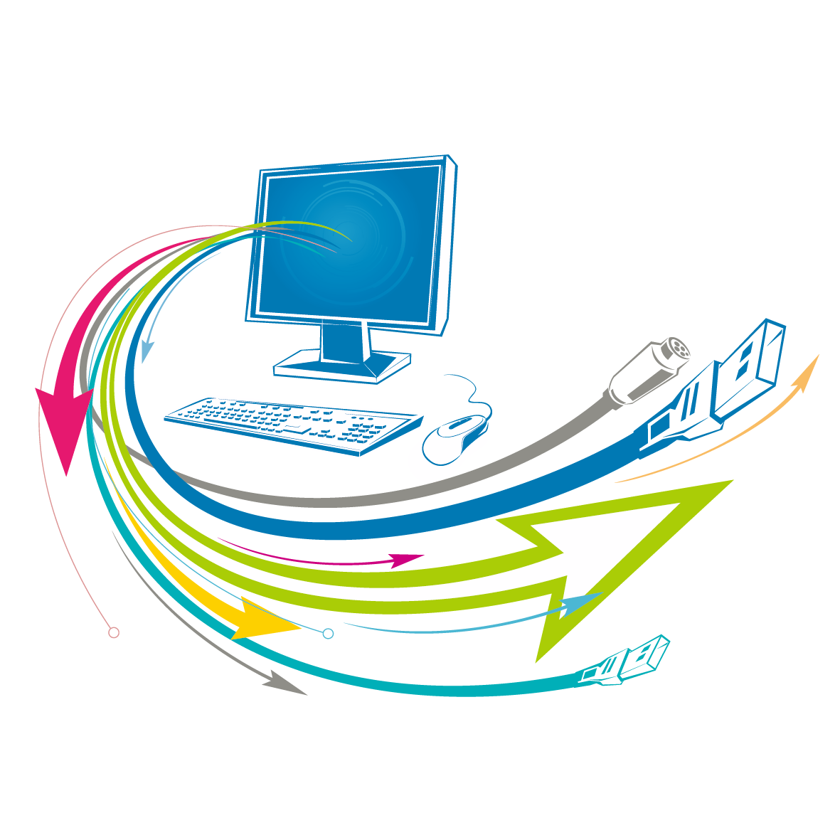 Network clipart computer wire. Technology euclidean vector icon