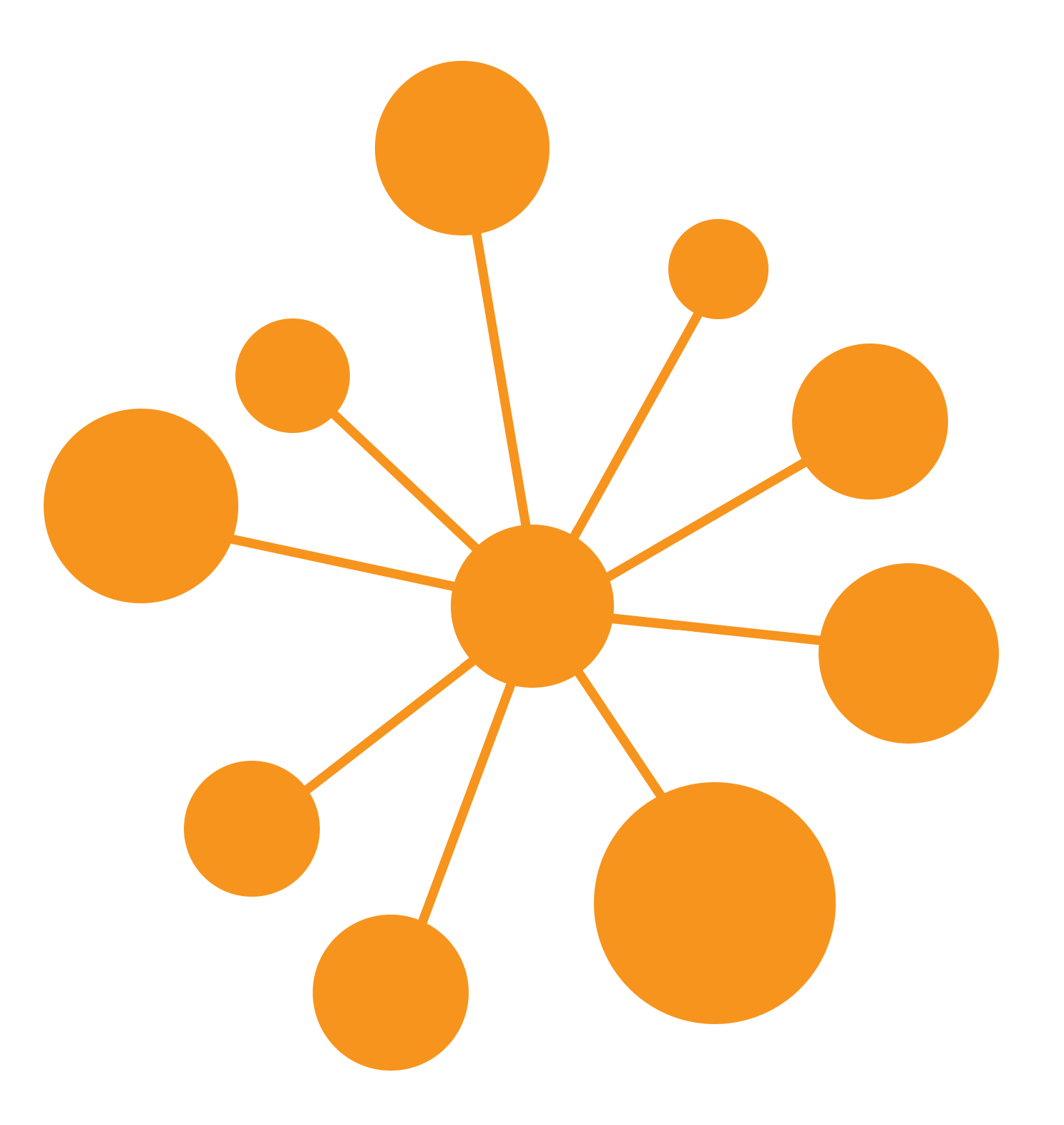 Network icon catch . Slavery clipart chain circle