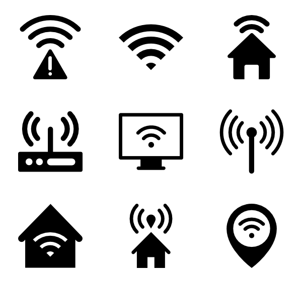 Network clipart network wifi.  icon packs vector