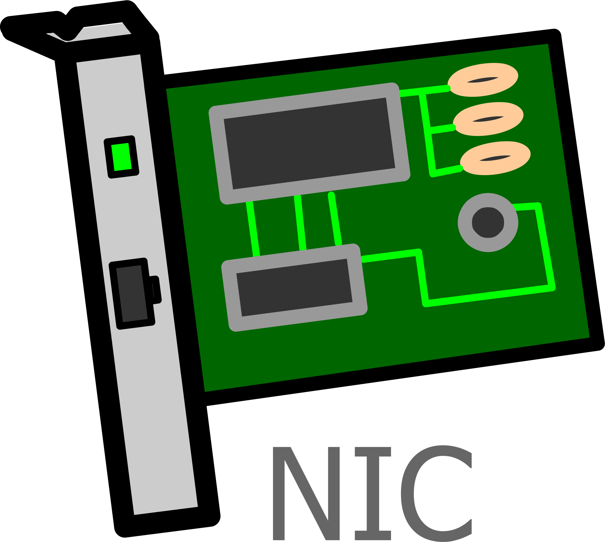 Interface card labelled icons. Network clipart vector png