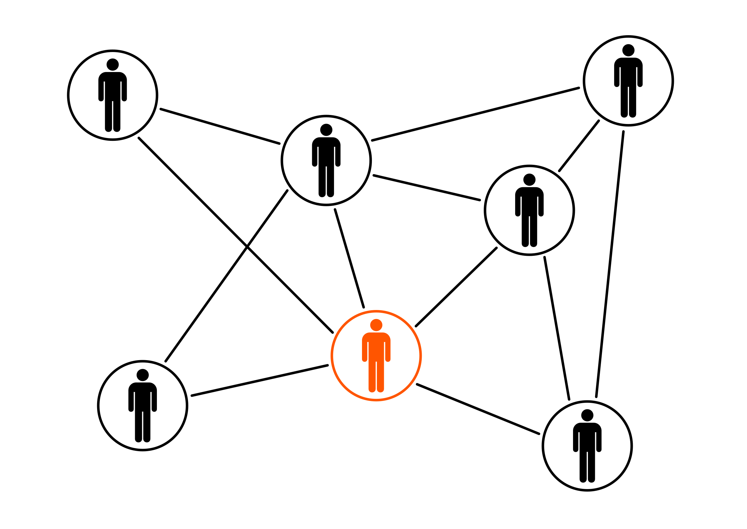 Black orange men cloud. Network clipart vector png