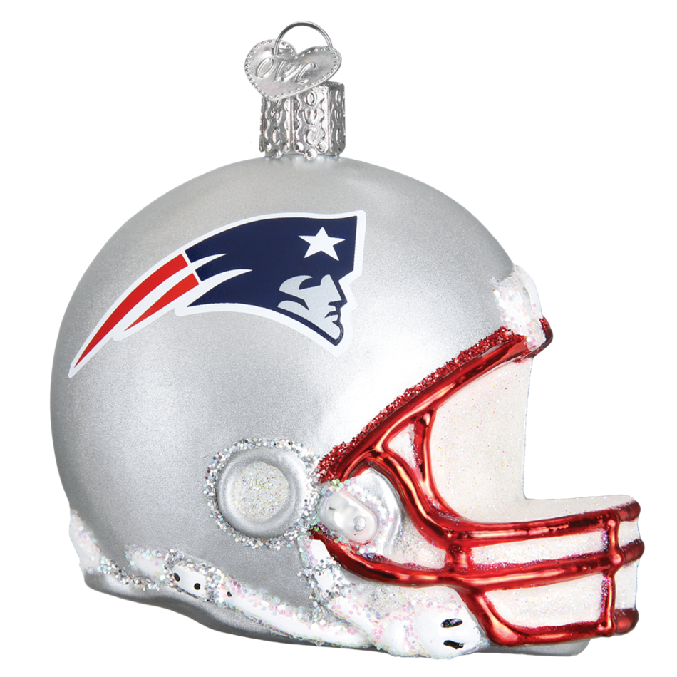 New england patriots helmet png. Old world christmas ornament