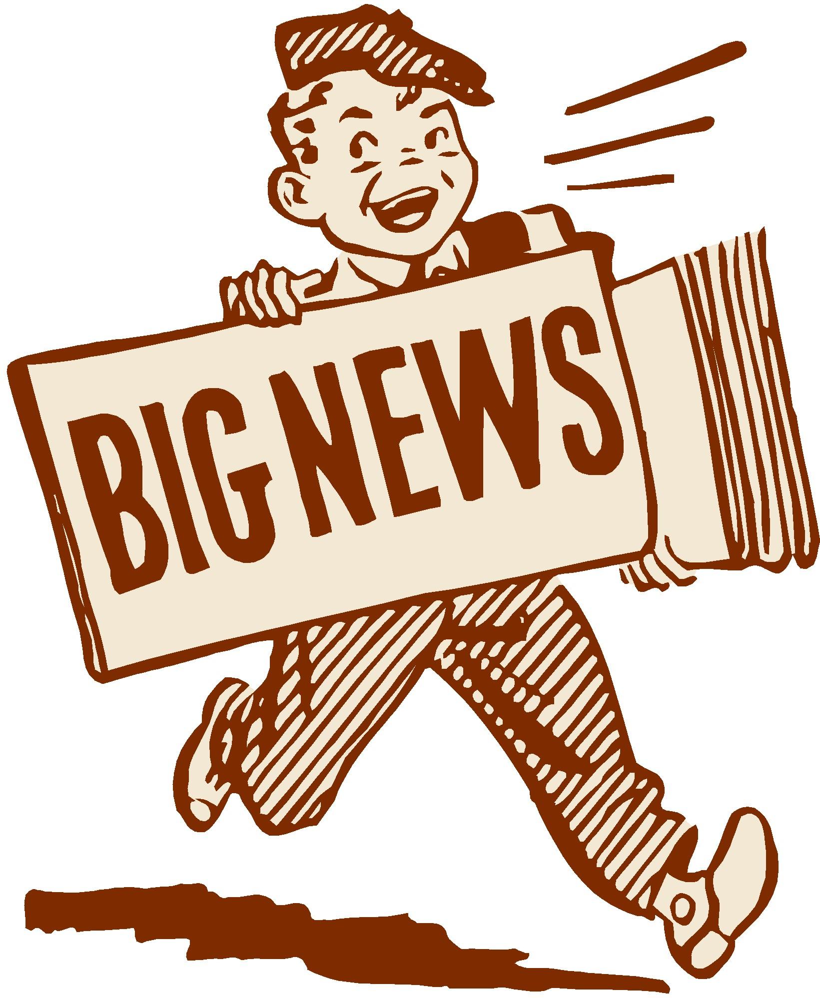 News clipart. Big