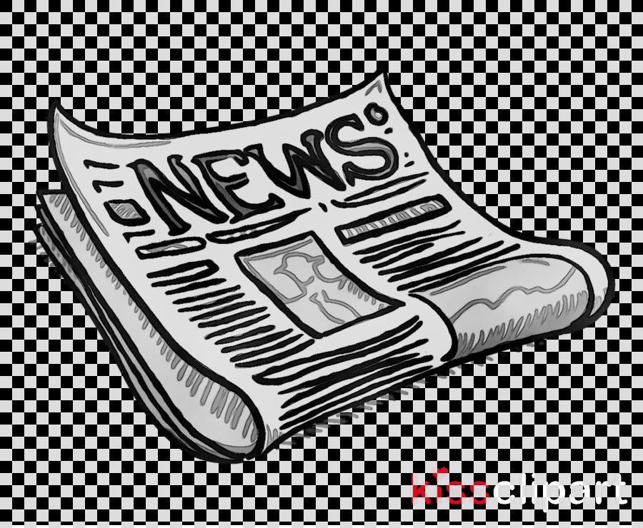 News clipart cartoon. Newspaper illustration