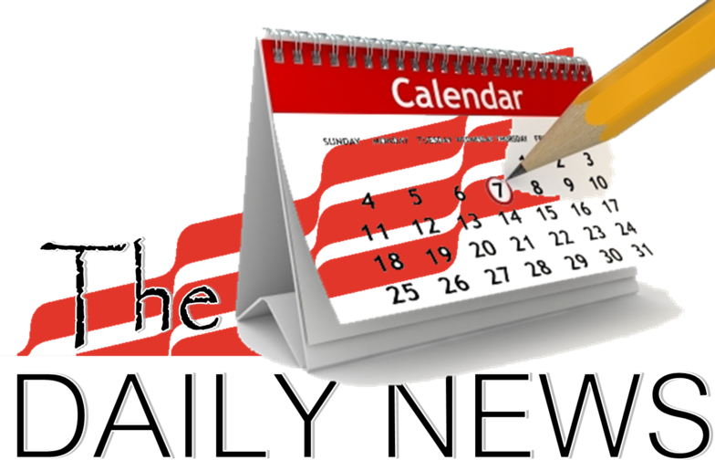 Newspaper clipart daily news. The calendar