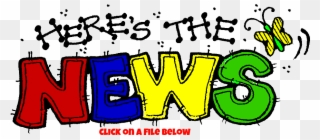 News clipart may news. Weekly newsletters here s