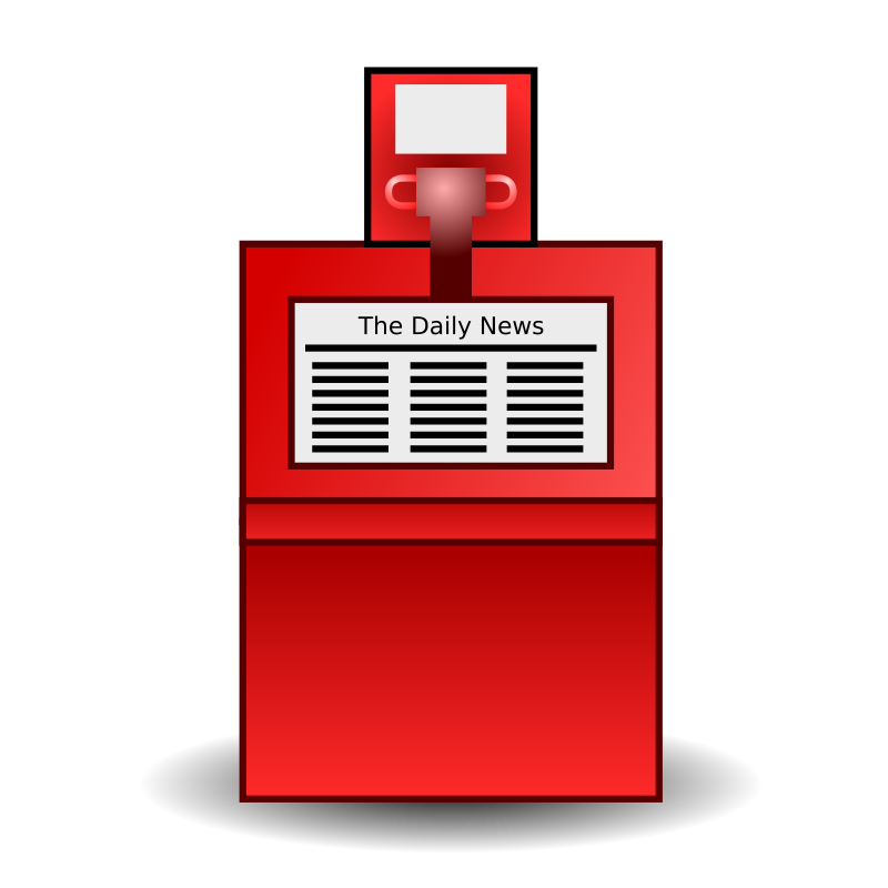 Stand medium image png. Newspaper clipart daily news