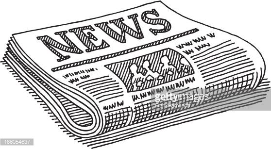 newspaper clipartlook. News clipart newpaper