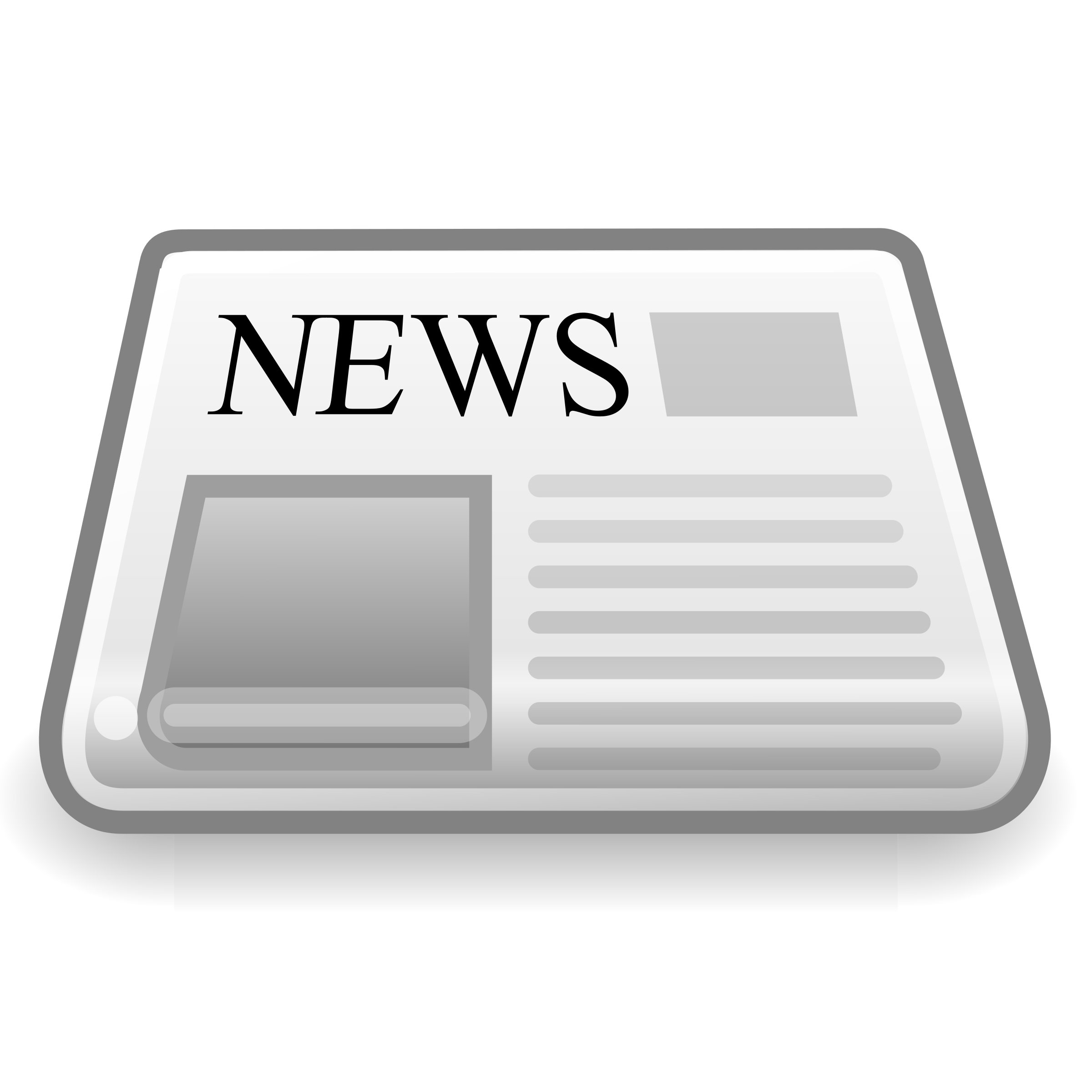 News paper icon big. Newspaper clipart edition
