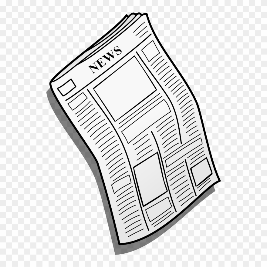 News clipart news paper. Newspaper no background png