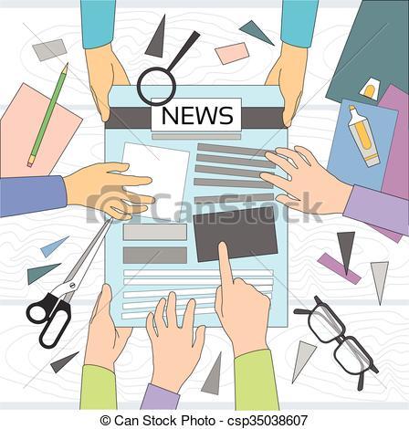 Portal . Writer clipart news writer