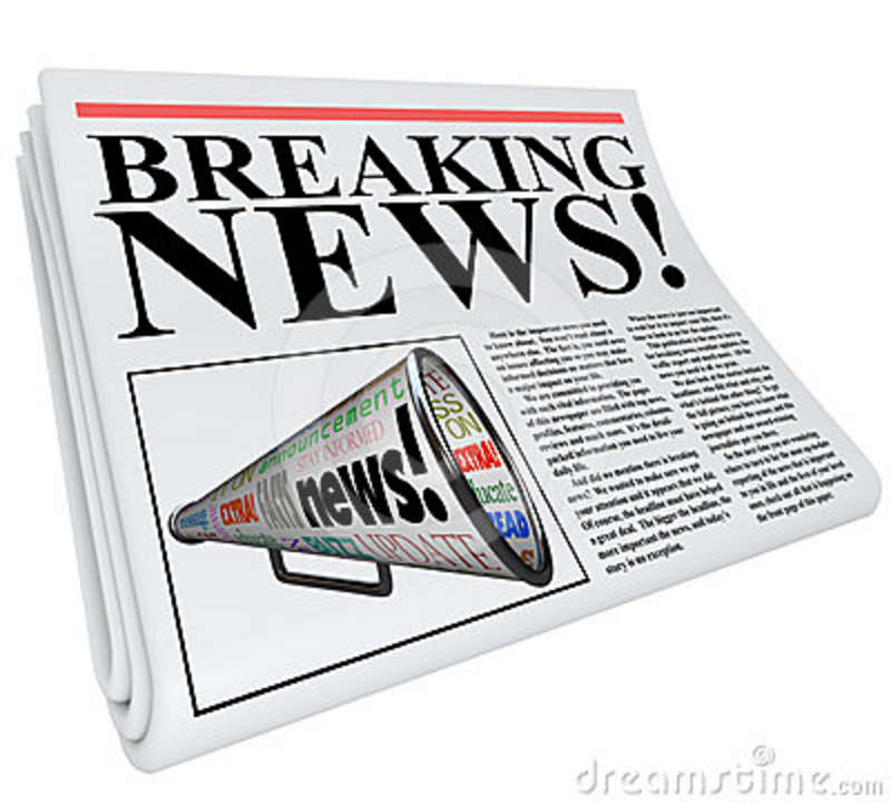Newspaper clipart newspaper front page. Station
