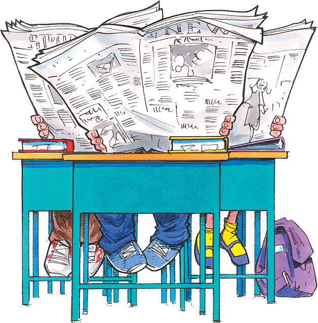 Newspaper free on dumielauxepices. News clipart non fiction