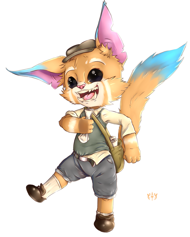 Gnar skin idea by. News clipart paperboy