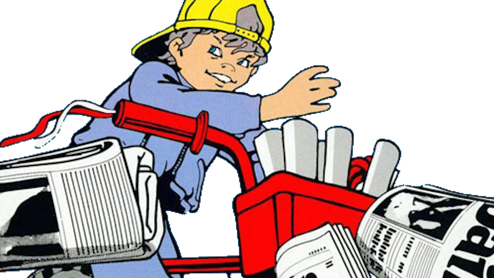 News clipart paperboy. The internet archive makes