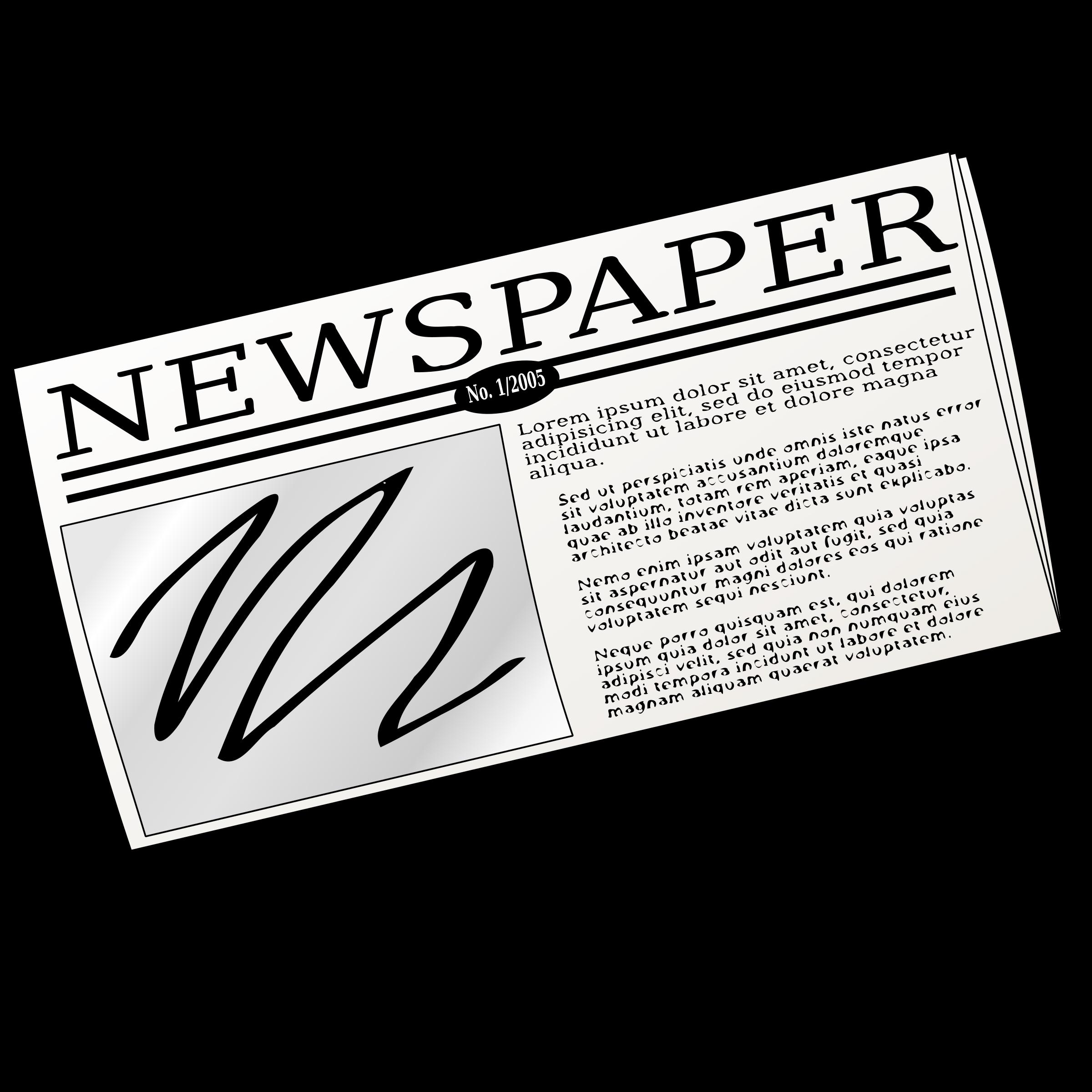 Of clip art me. Newsletter clipart newspaper advertising