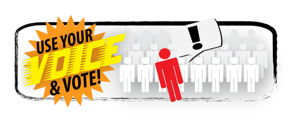 Vote anywhere for presidential. News clipart watch news
