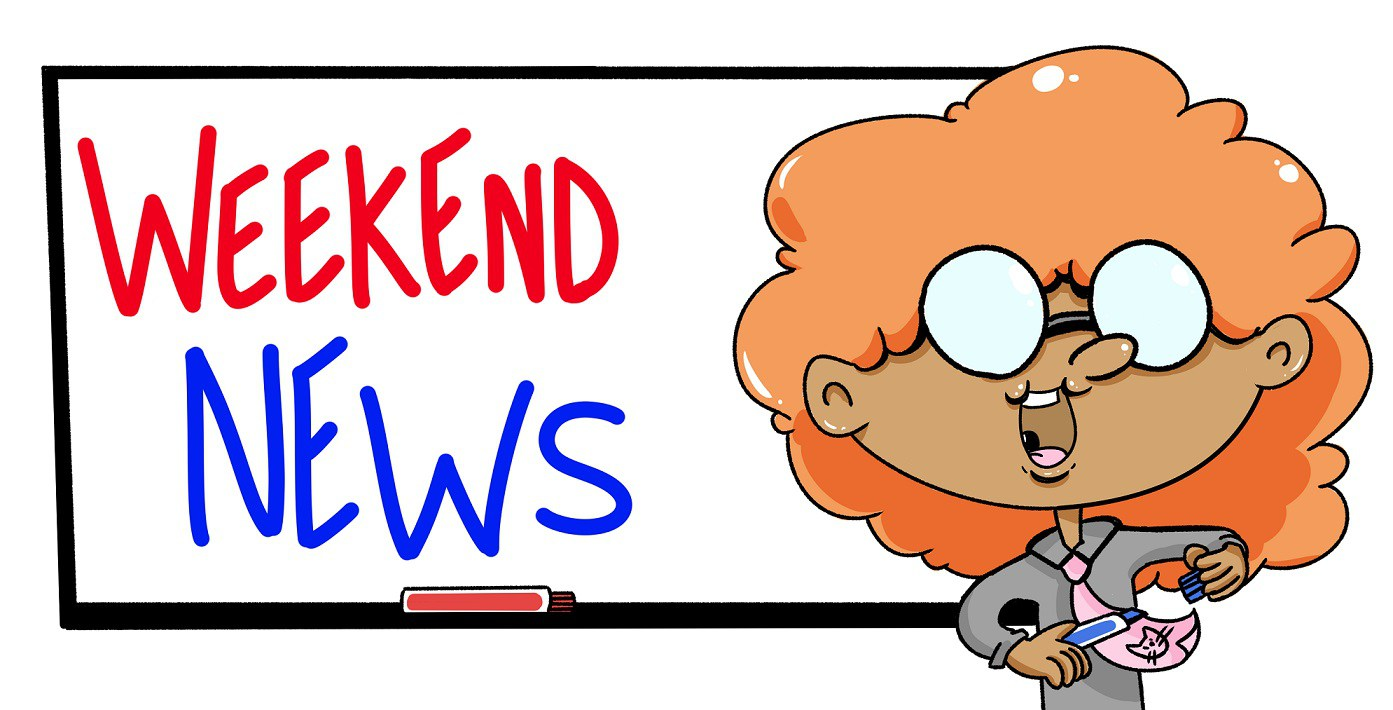 News clipart weekend news. Blog mining for miles