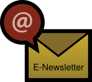 E clip art at. Newsletter clipart