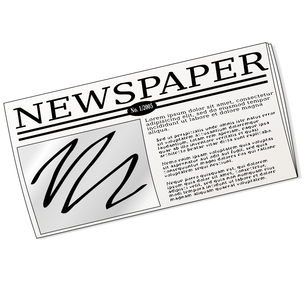 Bottling a law firm. Newsletter clipart chronicle