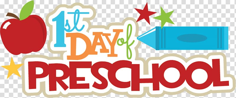 Preschool clipart logo.  st day of
