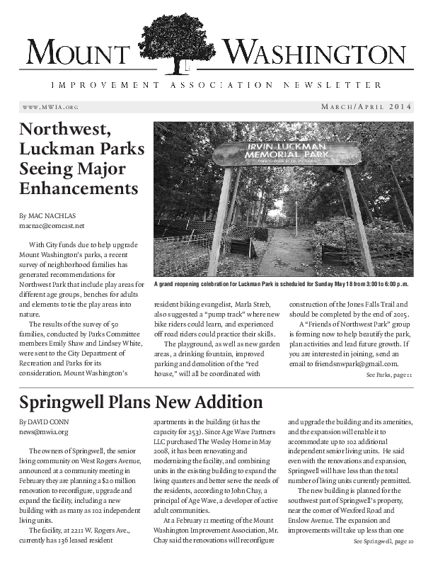 Newsletter clipart newpaper. Mwia archive of newsletters